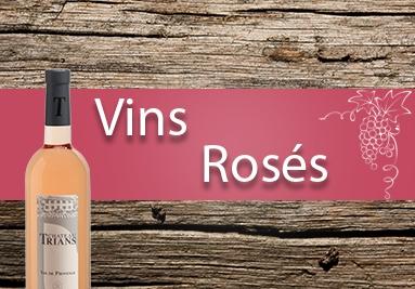 Trians- Nos vins rosés