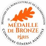 Médaille de Bronze au Concours Général Agricole de Paris 2018