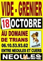 Vide-grenier 18 octobre 2020
