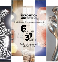 Art exhibition at Domaine de Trains